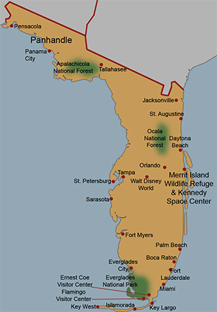 Boca Raton Florida Map.Best Time To Visit Florida