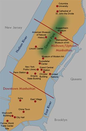 New York City travel destinations